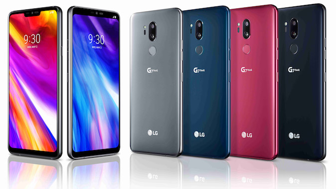 lg g7 thinq u bojama